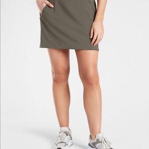 Athleta olive skort size 12